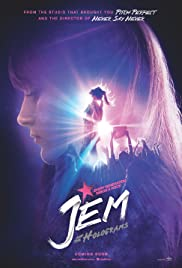 Image result for jem and the holograms movie poster