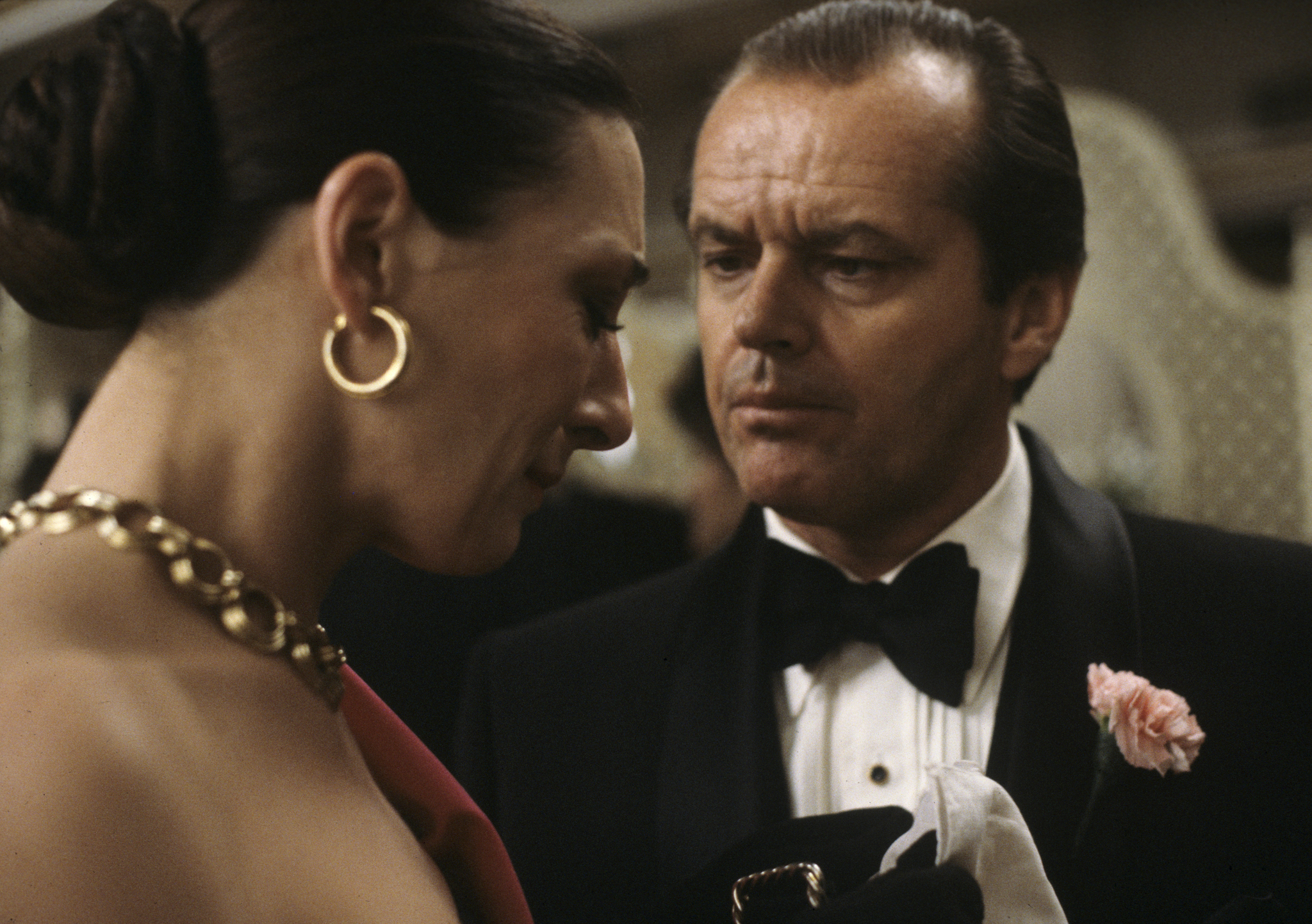 Jack Nicholson and Anjelica Huston in Prizzi's Honor (1985)