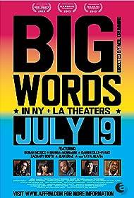 Big Words (2014) Poster - Movie Forum, Cast, Reviews