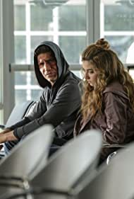 Jon Bernthal and Giorgia Whigham in The Punisher (2017)