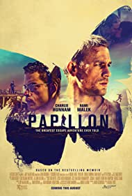 Charlie Hunnam and Rami Malek in Papillon (2017)
