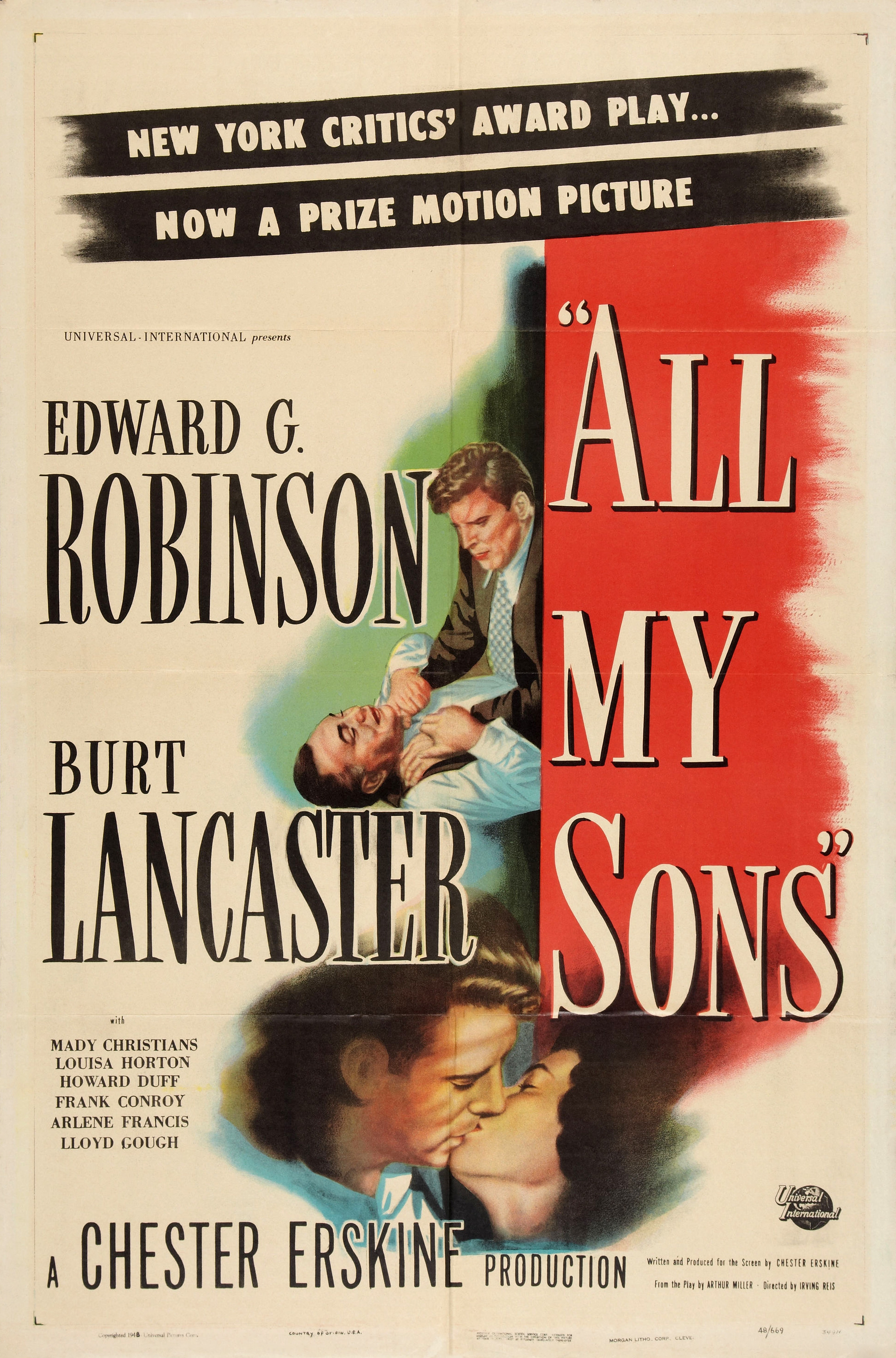 All My Sons Arthur Miller Book