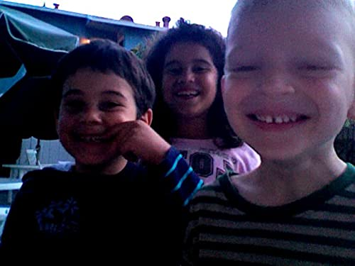 Singing with the neighborhood kids!