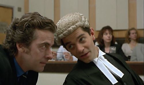 Peter Capaldi and James Frain in What Rats Won't Do (1998)