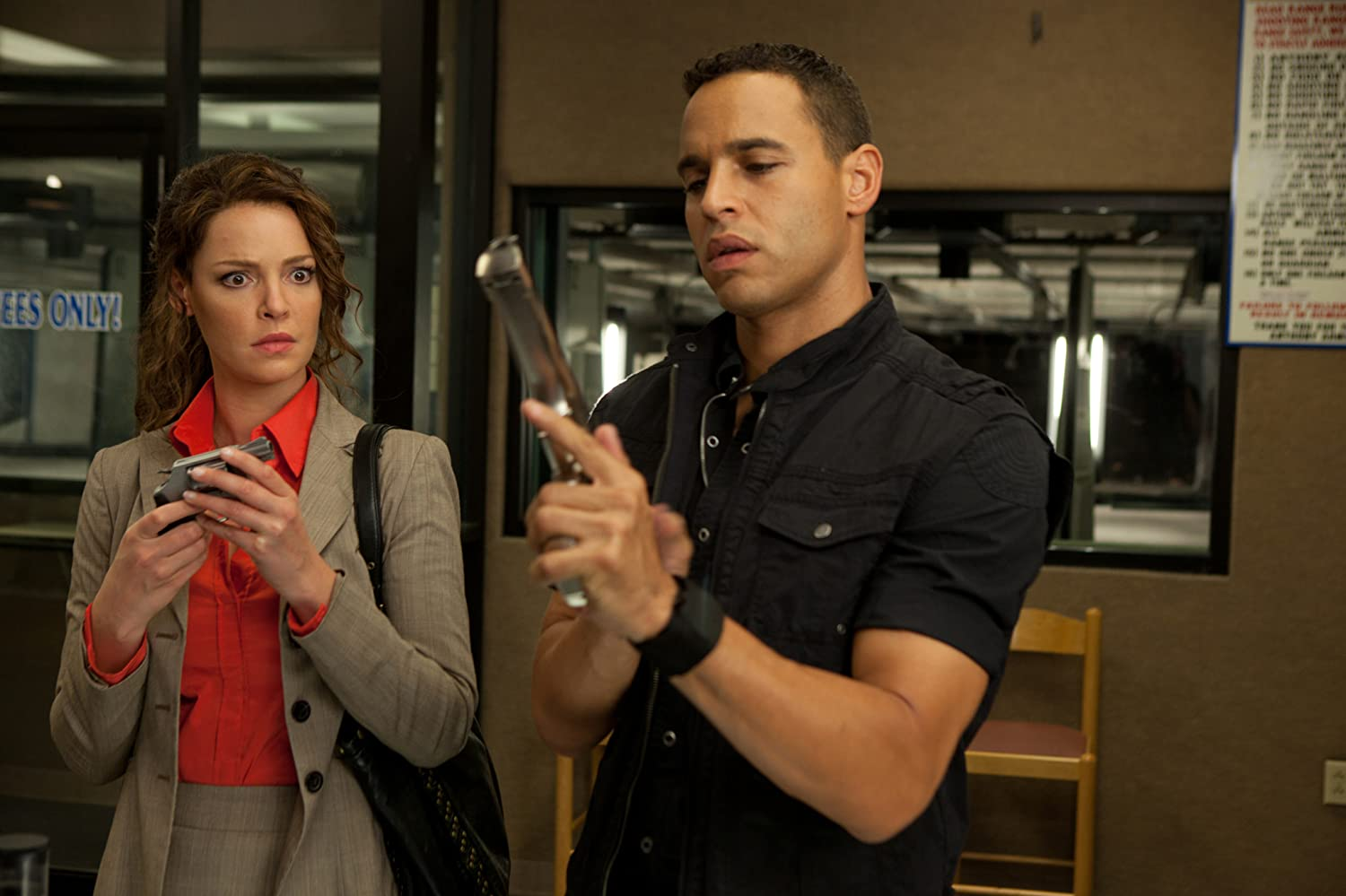 Katherine Heigl and Daniel Sunjata in One for the Money (2012)