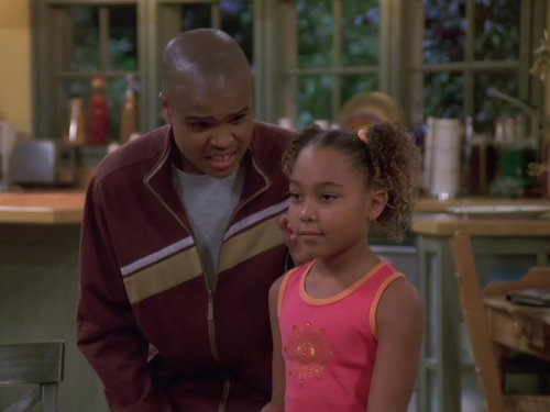 George Gore II and Parker McKenna Posey in My Wife and Kids (2001)