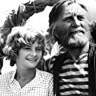 Kirk Douglas and Mark Lester at an event for Scalawag (1973)