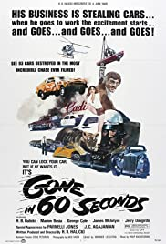 Gone in 60 Seconds (1974) Poster - Movie Forum, Cast, Reviews