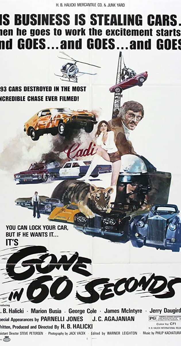 Gone in 60 Seconds (1974) - IMDb