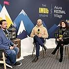 Kevin Smith, Ritesh Batra, and Sanya Malhotra at an event for The IMDb Studio at Sundance (2015)