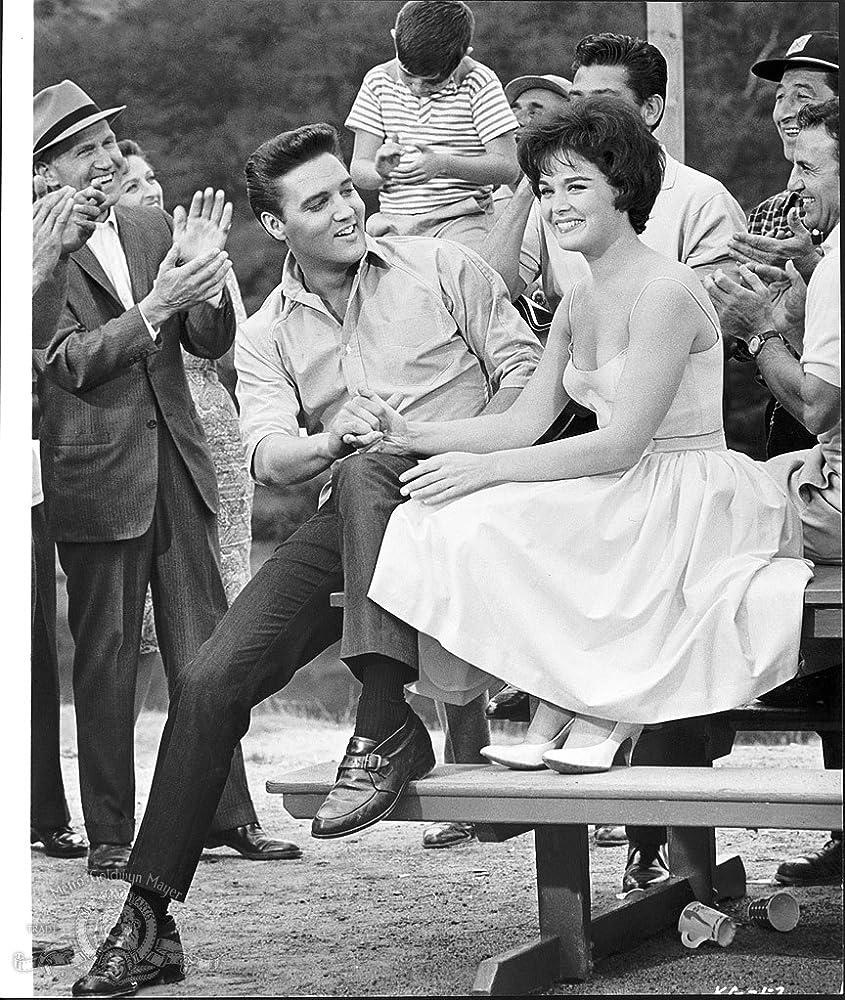 Elvis Presley and Joan Blackman in Kid Galahad (1962)
