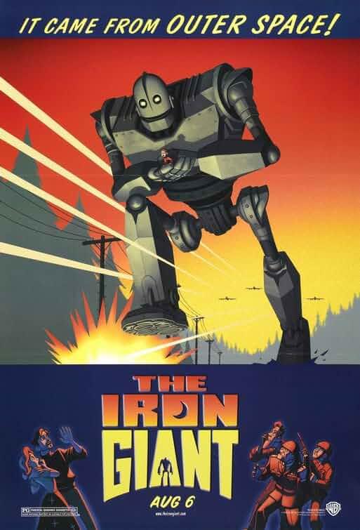 The Iron Giant (1999) Hindi Dubbed