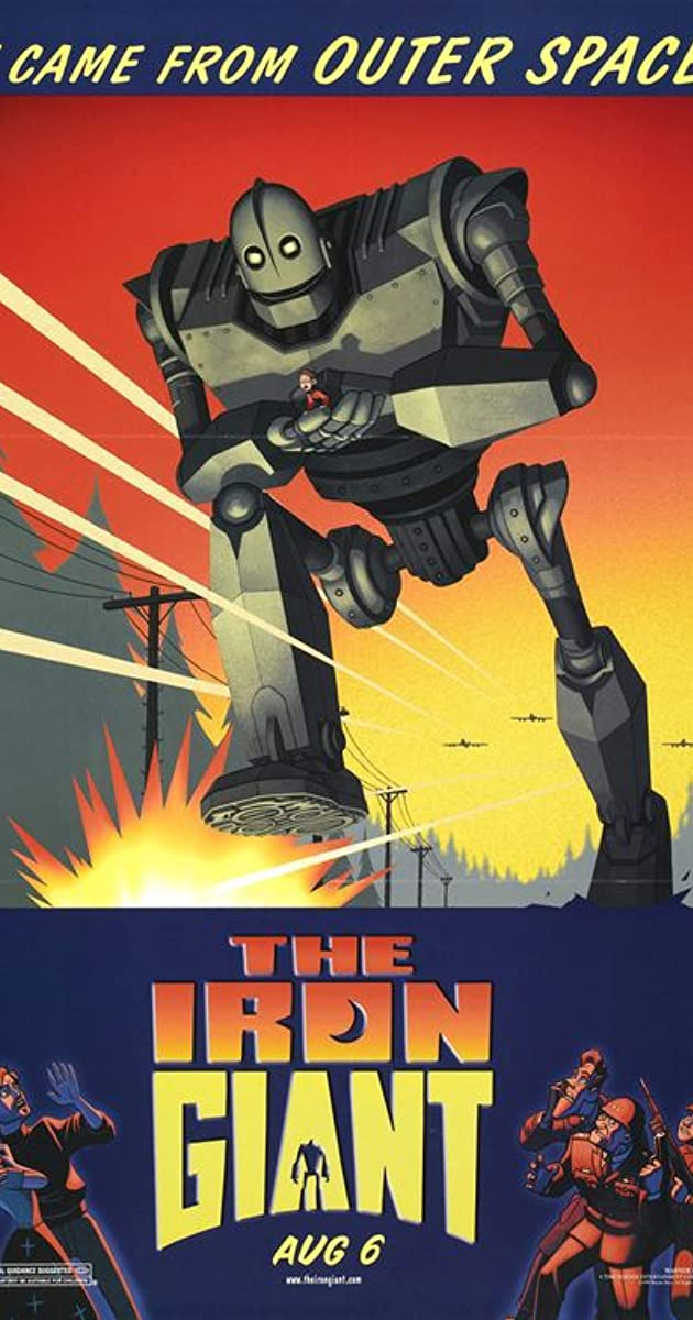 Subtitle of The Iron Giant