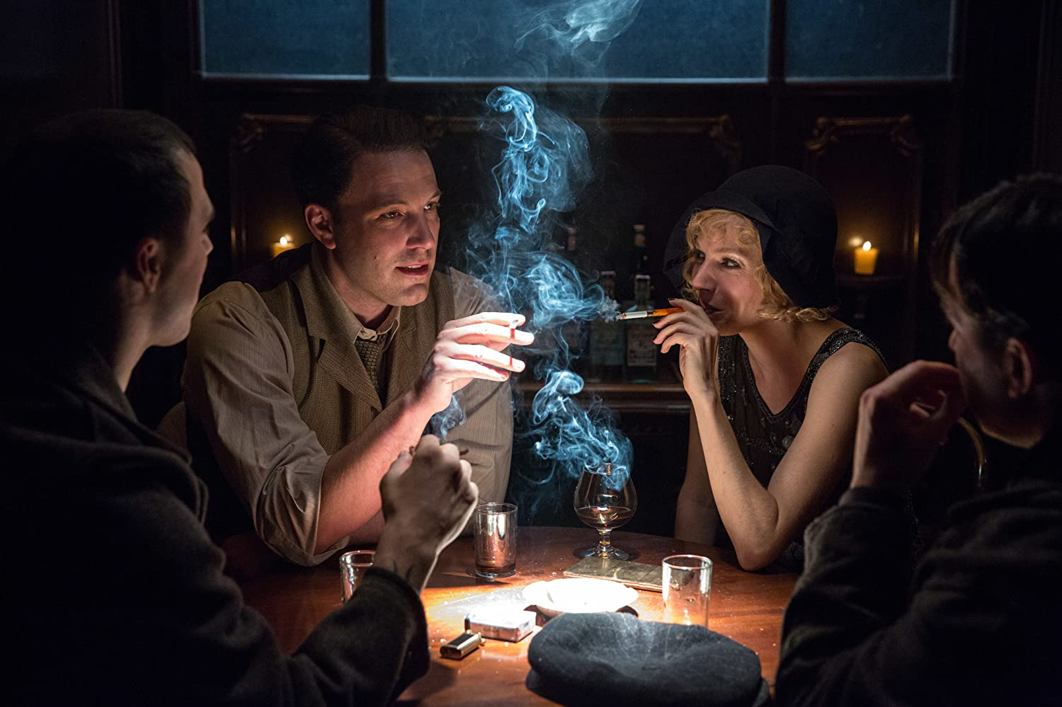 Ben Affleck and Sienna Miller in Live by Night (2016)