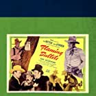 I. Stanford Jolley, Charles King, Kermit Maynard, Dave O'Brien, Tex Ritter, and Guy Wilkerson in Flaming Bullets (1945)