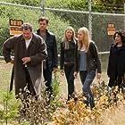 Joshua Jackson, John Noble, Anna Torv, Jasika Nicole, and Georgina Haig in Fringe (2008)