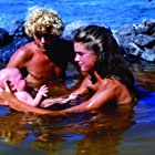 Brooke Shields, Christopher Atkins, and Chad Timmerman in The Blue Lagoon (1980)