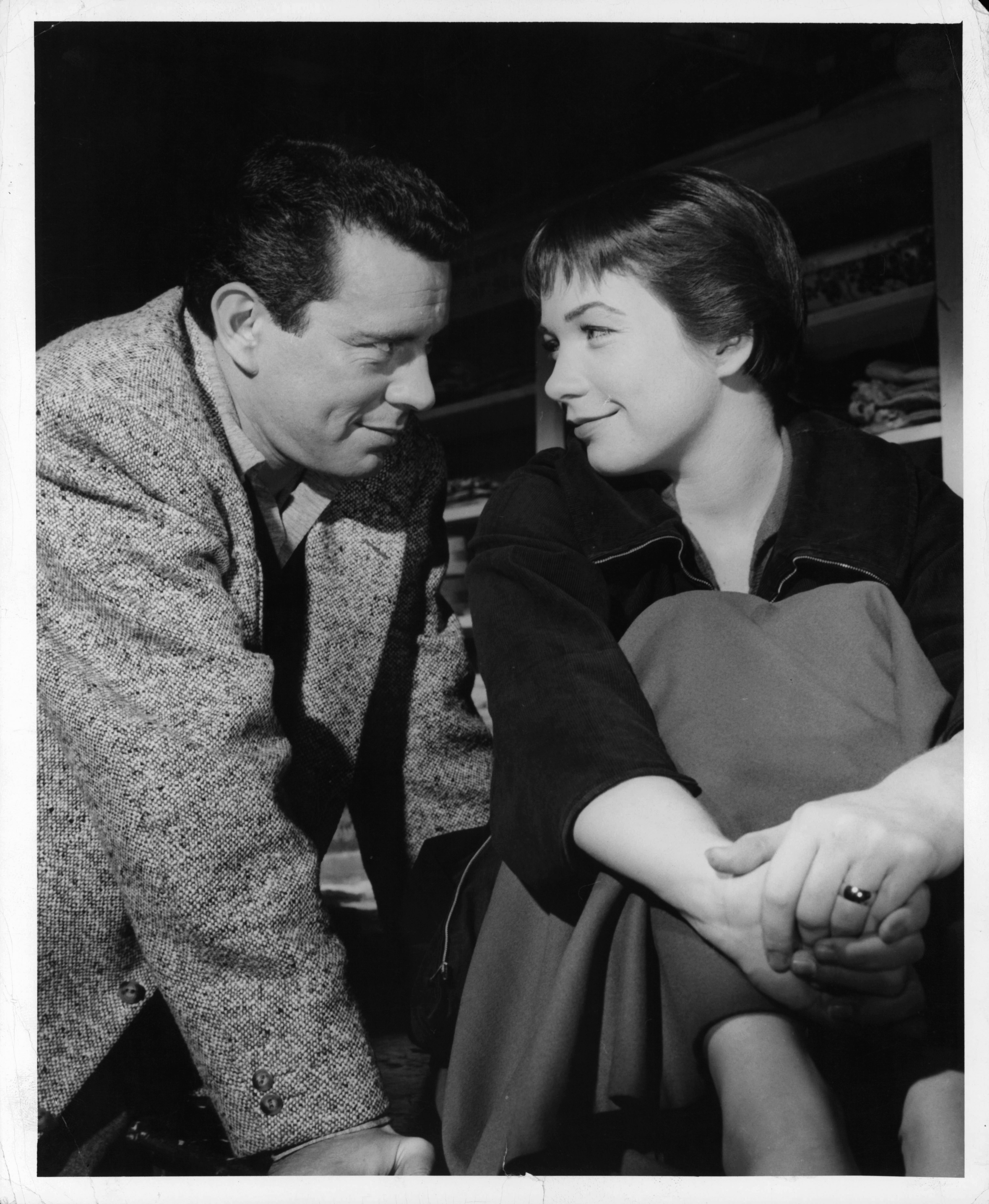 Shirley MacLaine and John Forsythe in The Trouble with Harry (1955)