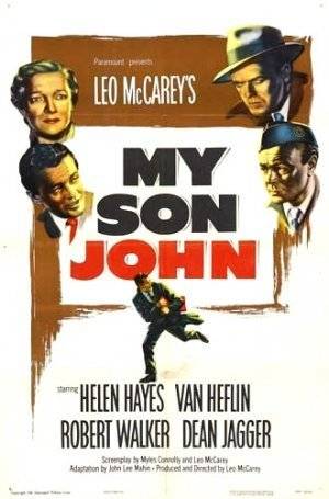 Van Heflin, Helen Hayes, Dean Jagger, and Robert Walker in My Son John (1952)
