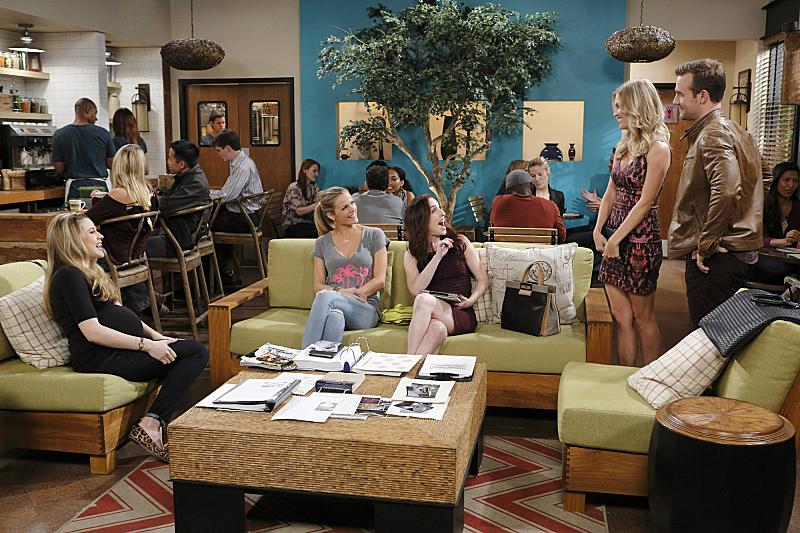 James Van Der Beek, Majandra Delfino, Zoe Lister-Jones, Amanda Lund, and Brooklyn Decker in Friends with Better Lives (2014)