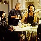 John Travolta, Andie MacDowell, and Jean Stapleton in Michael (1996)