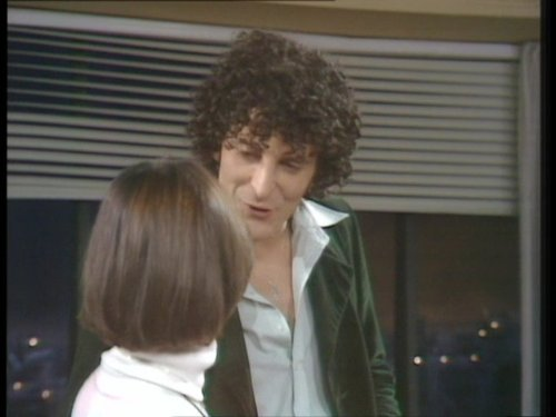 George Camiller and Françoise Pascal in Mind Your Language (1977)