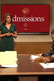 Sandra Oh, Kenan Thompson, Cecily Strong, Chris Redd, and Heidi Gardner in College Admissions (2019)