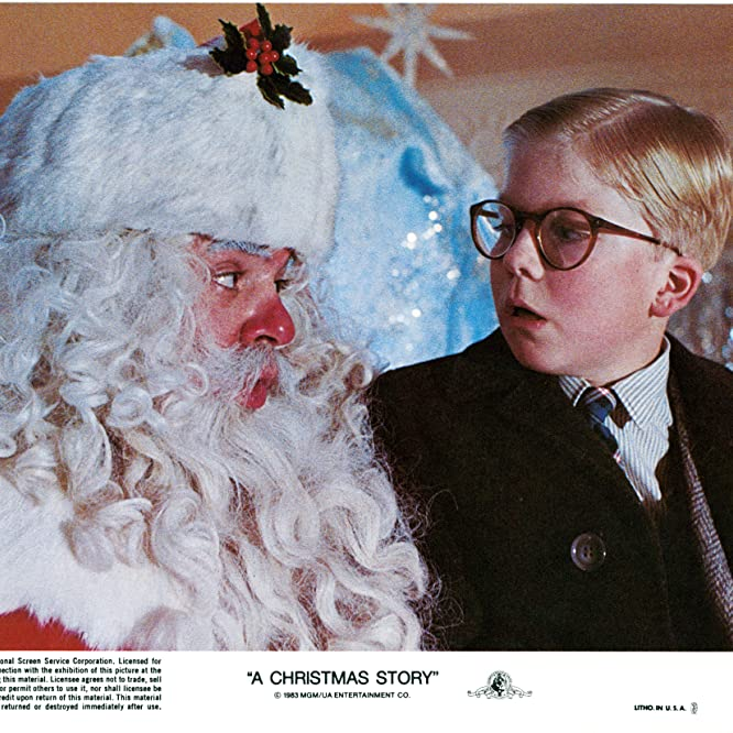 Peter Billingsley and Jeff Gillen in A Christmas Story (1983)