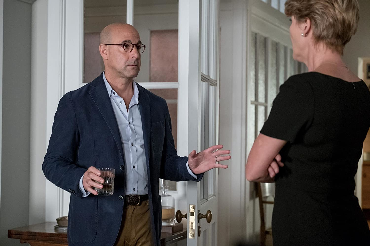 Emma Thompson and Stanley Tucci in The Children Act (2017)