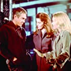 Ann-Margret, Steve McQueen, and Tuesday Weld in The Cincinnati Kid (1965)