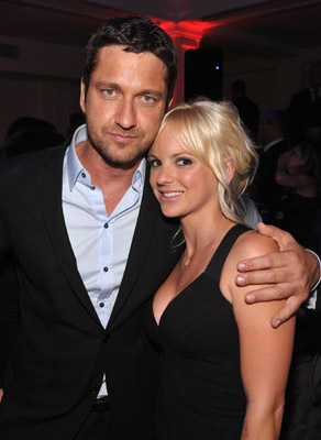 Gerard Butler and Anna Faris at an event for The Ugly Truth (2009)