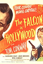 The Falcon in Hollywood Poster