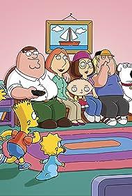 Julie Kavner, Nancy Cartwright, Mila Kunis, Alex Borstein, Dan Castellaneta, Seth MacFarlane, and Yeardley Smith in Family Guy (1999)
