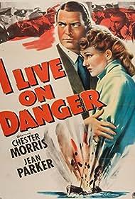 Chester Morris and Jean Parker in I Live on Danger (1942)