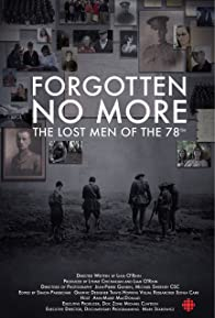 Primary photo for Forgotten No More: The Lost Men of the 78th
