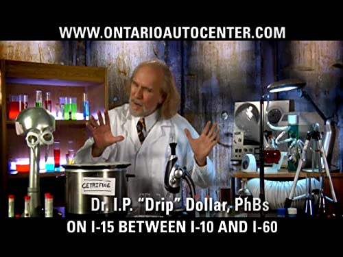 Dr IP Dollar PhD BS...Puts The Chill on ads.(Ongoing Commercial Series)