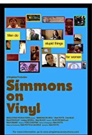 Simmons on Vinyl Poster