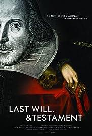 Last Will & Testament Poster