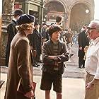Martin Scorsese, Chloë Grace Moretz, and Asa Butterfield in Hugo (2011)
