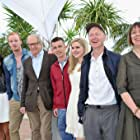 Paul Laverty, Ken Loach, Gary Maitland, William Ruane, Siobhan Reilly, Jasmin Riggins, and Paul Brannigan at an event for The Angels' Share (2012)