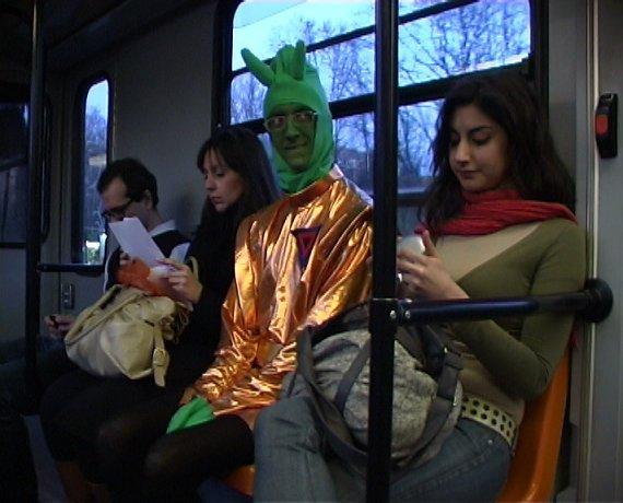 Erika Toa Russo, George Todria, Stefania Onofrillo, and Daniele Sciarretta in Tram: Part II (2010)