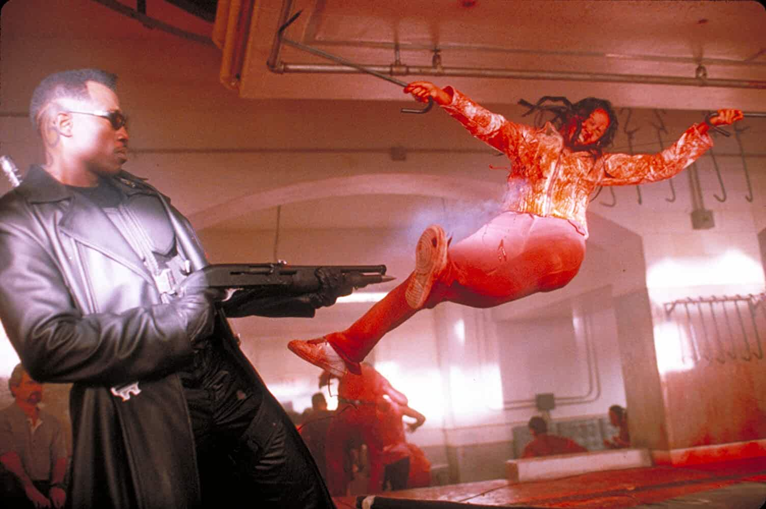 Wesley Snipes in Blade (1998)