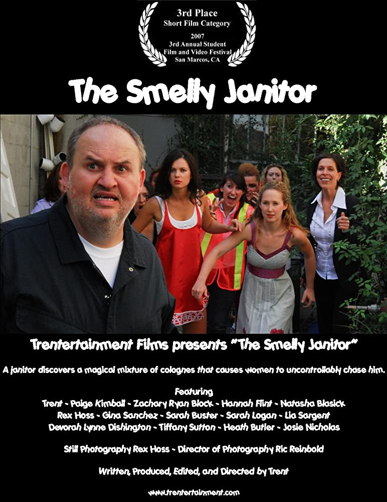 "The poster from ""The Smelly Janitor"""