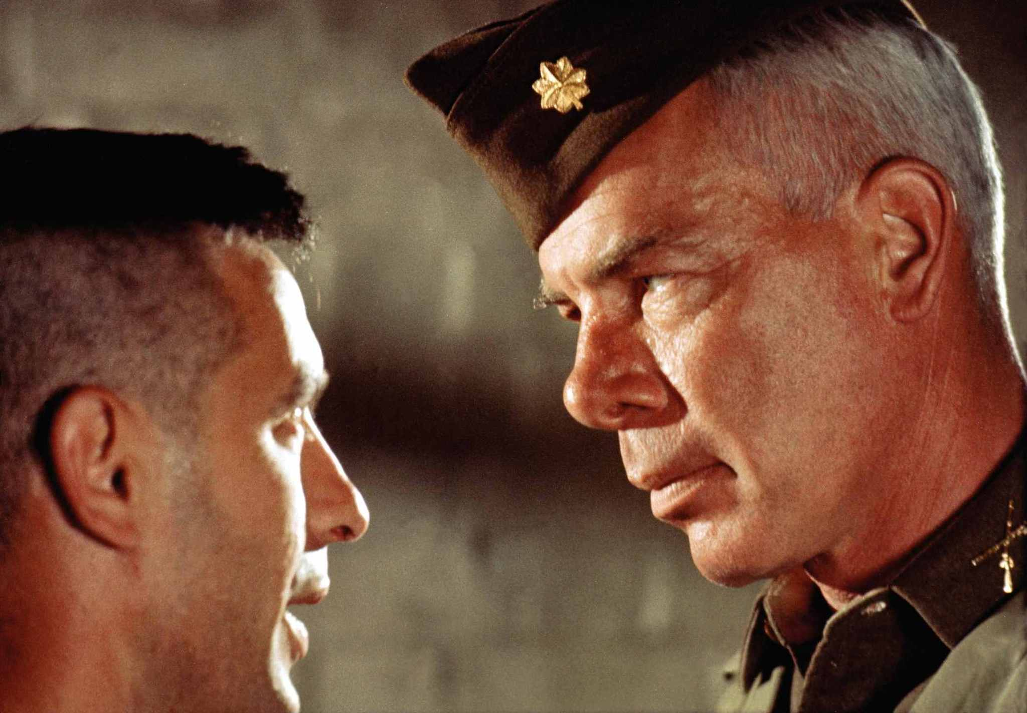 John Cassavetes and Lee Marvin in The Dirty Dozen (1967)