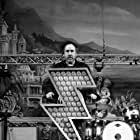 Tim Burton on the set of HERE WITH ME.