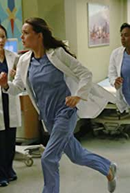 Jerrika Hinton and Camilla Luddington in Grey's Anatomy (2005)