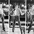 John Travolta and Fran Drescher in Saturday Night Fever (1977)