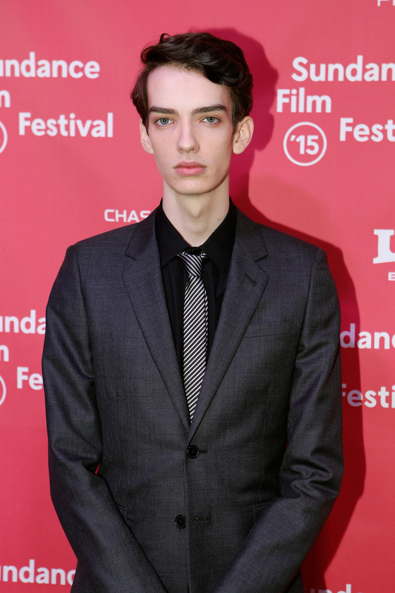Kodi Smit-McPhee at an event for Slow West (2015)