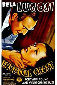 Bela Lugosi and Polly Ann Young in Invisible Ghost (1941)