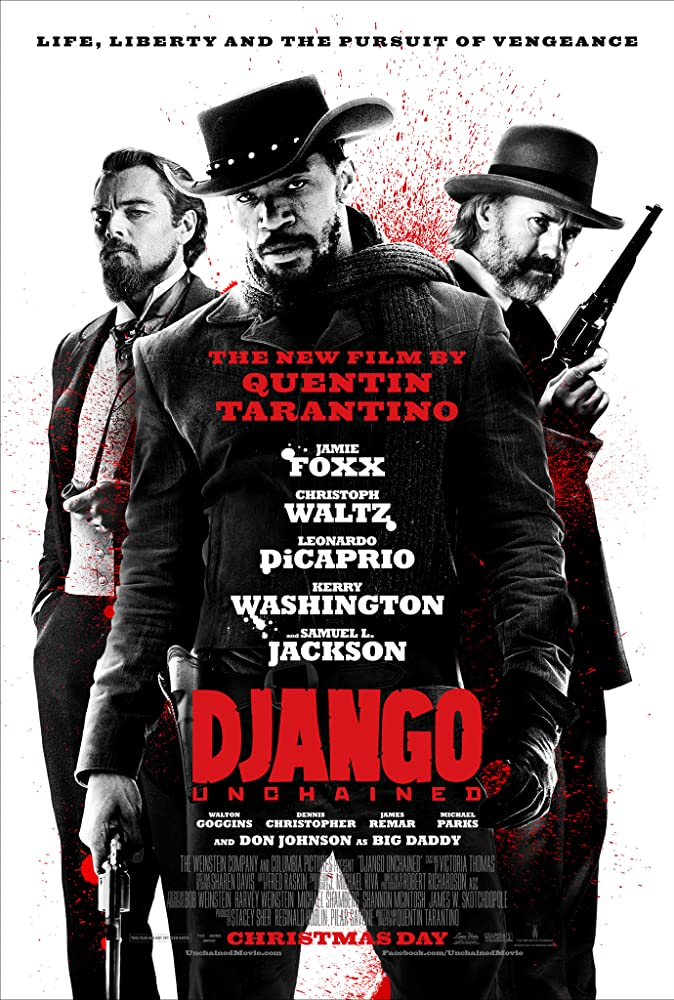 Django Unchained 2012 Movie BluRay Dual Audio Hindi Eng 500mb 480p 1.6GB 720p 5GB 12GB 1080p
